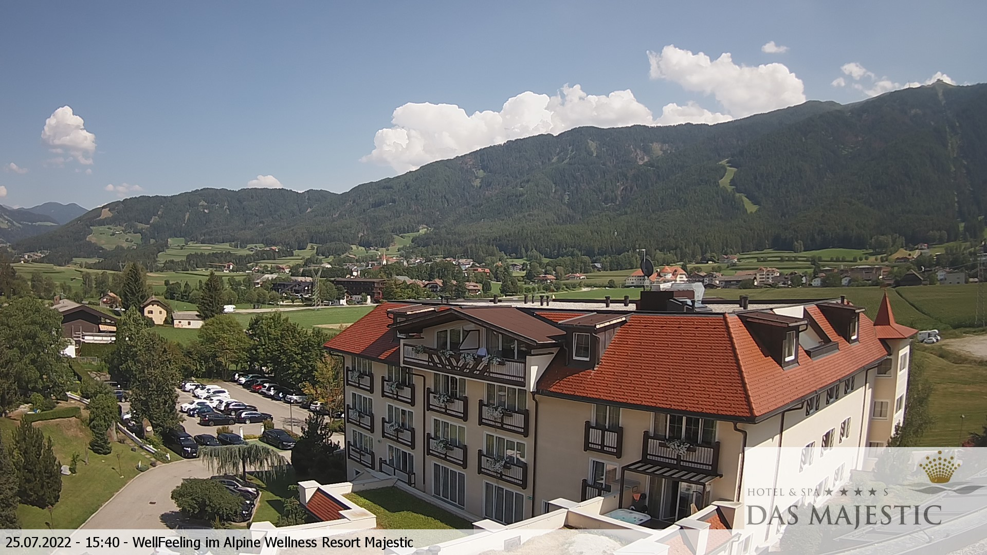 Webcam Hotel Majestic at Reischach