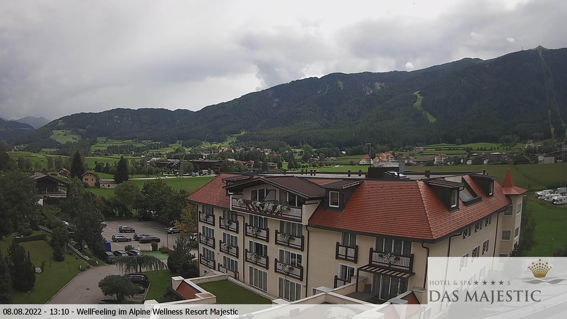 Webcam Hotel Majestic in Reischach
