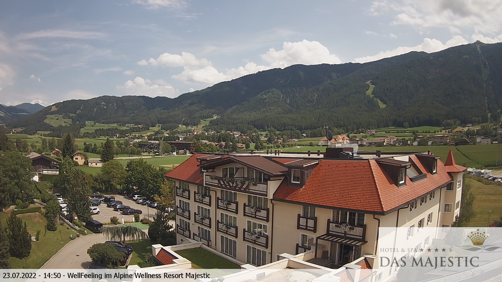 Webcam Hotel Majestic a Riscone