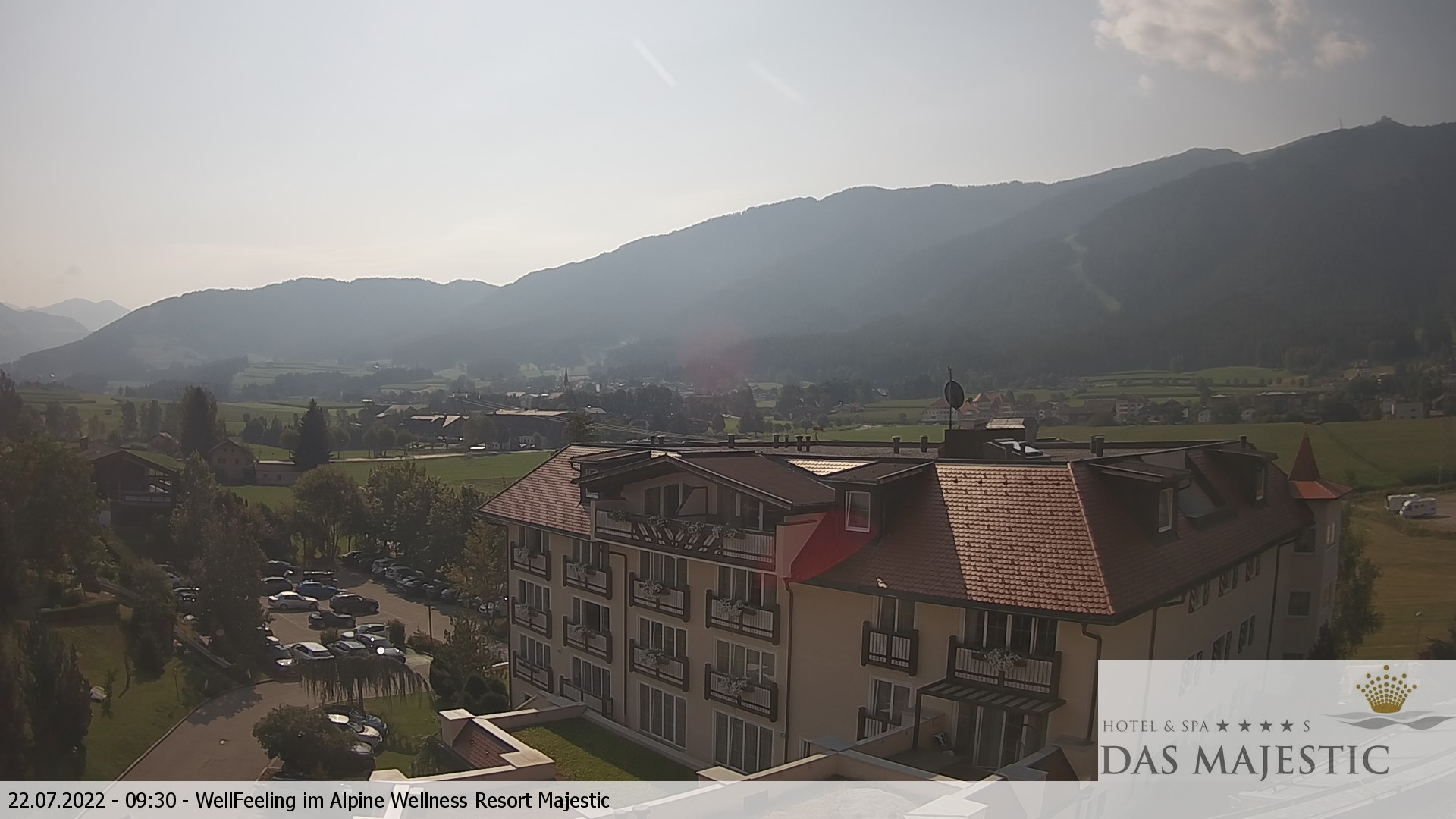 Webcam Webcam Hotel Majestic in Reischach